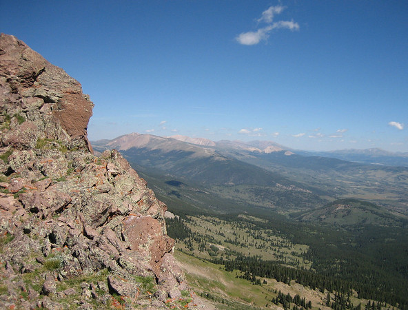 Buffalo Peaks traverse