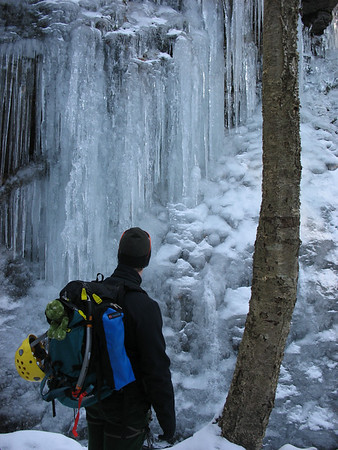 Mountain Mike meets Ice 1/10/10