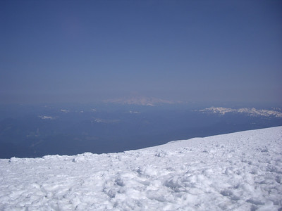 Mt. Saint Helens from the Summit of Adams.