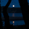 Moonrise over Whanganui Bay