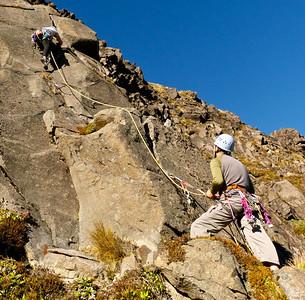 Mangetepopo / Whanganui Bay Rockclimbing, May 5-6 2012