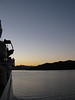 A calm evening for the Cook Strait crossing