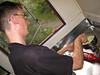 Steve makes custard especially for Stu