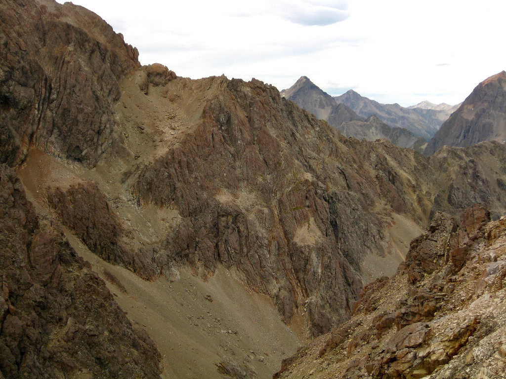 View of the SW ridge of Mt Hopeless