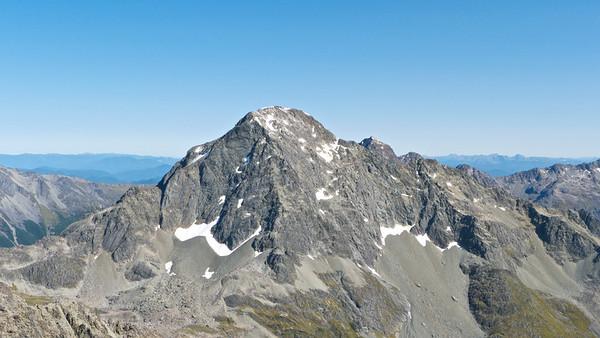 Mt Travers south ridge, summer 2014
