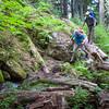 Typical Coast Mountain trail shenanigans