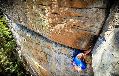 B3, 5.11b @ Long Wall Climber: Chris Barlow