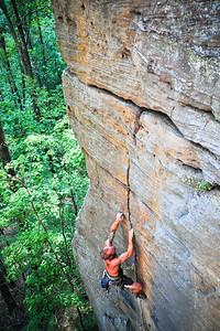 Goodstone, 5.11a (trad) @ Funk Rock City Climber: Joe Taylor