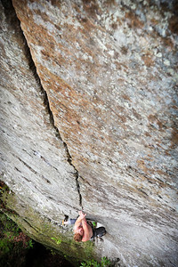 Fibrulator direct 5.11c at Indian Creek Crag Climber: Phil Uihlein
