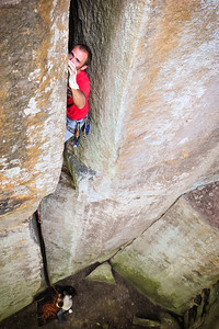 What's Left Of The Beeneling 5.10c trad @DunkanRock Climber: Joe Taylor