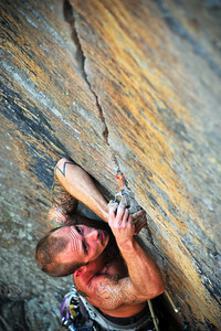 Goodstone, 5.11a (trad) @ Funk Rock City Climber: Joe Taylor