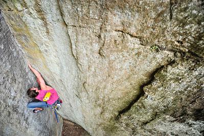 The Beeneling 5.9+ trad @DunkanRock Climber: Scott Arrington