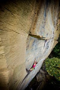 Demon Seeds 5.12c @ Bob Marley Crag Climber: Andrew Balog
