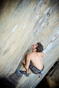 Demon Seeds 5.12c @ Bob Marley Crag Climber: Christian Wallace Read