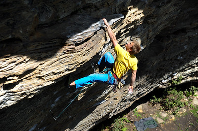 Magnum Opus 5.12b @ Solarium Climber: Thomas Cunningham