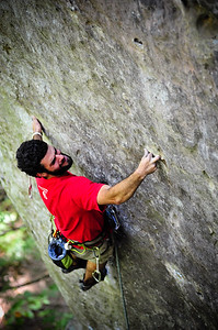 Nicorette 5.12a @ Military Wall Climber: Ben Fierman