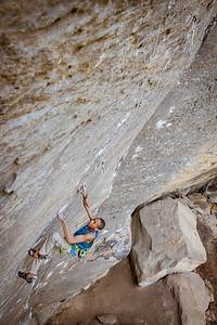 Lucifer, 5.14c @ Purgatory climber: Kai Lightner