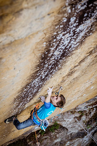 24 Karats, 5.14c at Gold Coast climber: Christophe Bichet