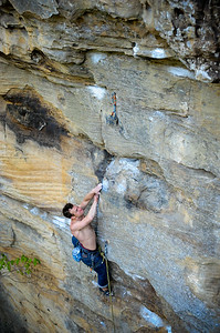 Whipper Snapper 5.12b @ Drive-By crag Climber: Robert Smith