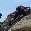 ...a free solo climber passes through.