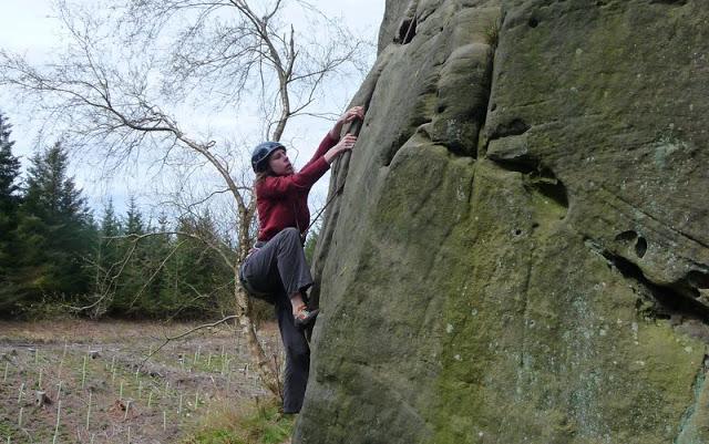 Kyloe Crag, Northumberland