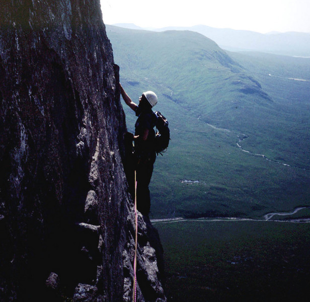 Central Buttress on the Buachaille, Glen Coe