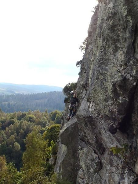 Polney Crag, Dunkeld
