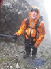 Wet stance for Craig in Skye