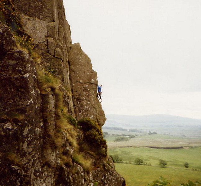 Brian on The Edge, Louden Hill