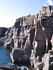 Sea cliff climbing at Reiff.