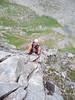 John on Fingers Ridge, Cairngorms