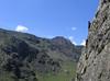 Classic Welsh Severe. Crackstone Rib in Llanberis, Snowdonia.