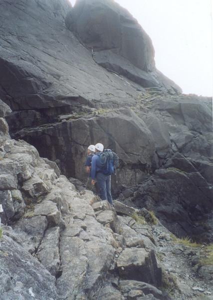 Approach to the Cioch, Skye.