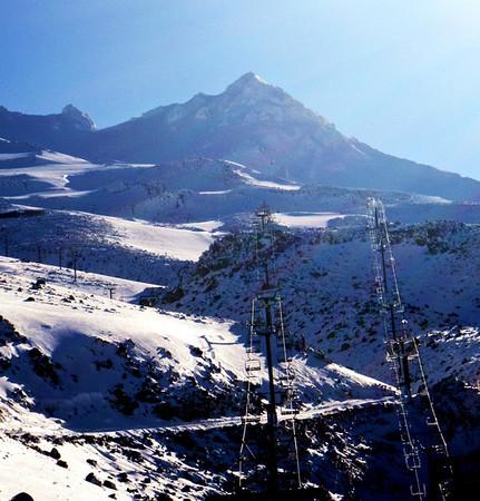 Girdlestone Peak, Mt Ruapehu, November 8 2008