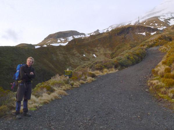 Taranaki Mt Egmont, October 7-9 2011