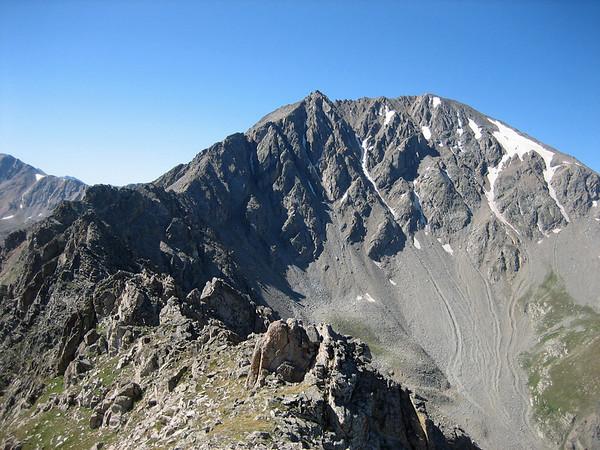 La Plata Peak Ellingwood Ridge