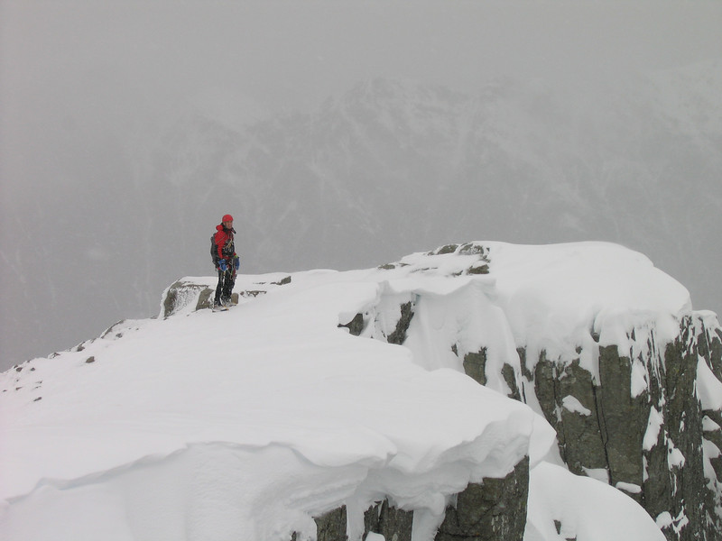 Brian above SC Gully