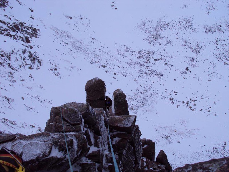 Fingers Ridge, Coire an t-Sneath day,  Northern Cairngorms