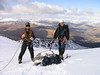 Gavin and Craig on Cruach Ardrain