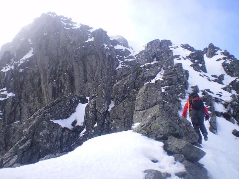 On Ledge Route, Ben Nevis