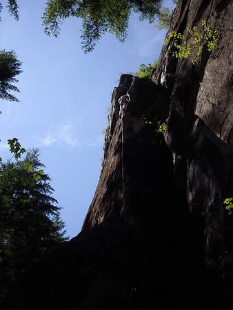 Jesse on Everest Without Lycra, 11b/c,  Earwax Wall, Index.