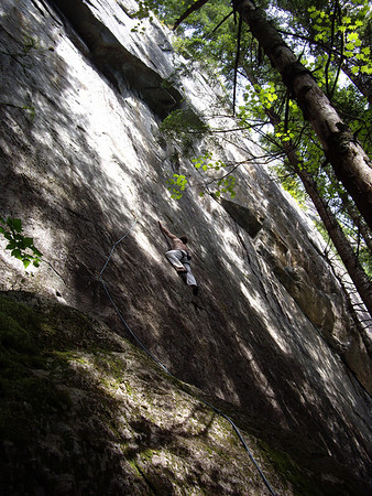 Jesse on Sideline, 10c/d,  Earwax Wall, Index.