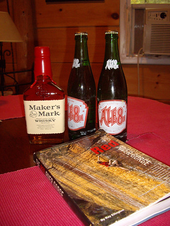 Ale 8 and Maker's mix very well together.