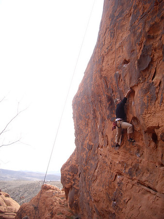 Rafe on a fun 10d at the Stone Wall.