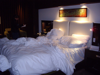 Our room at the Red Rock Casino.  It was quite comfy.