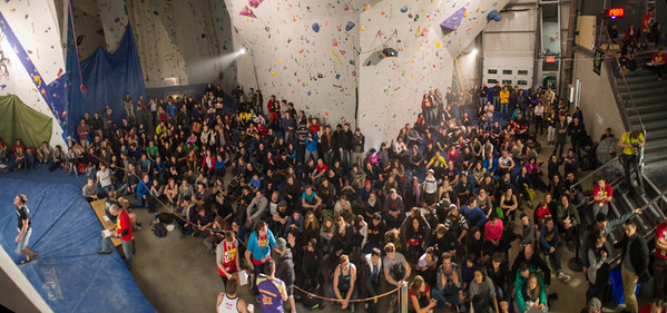 The croud watching on problem #3 and #4!