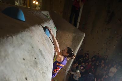 Climber: Bonnie de BruijnLocation: Climber's RockEvent: Tour de Bloc 10