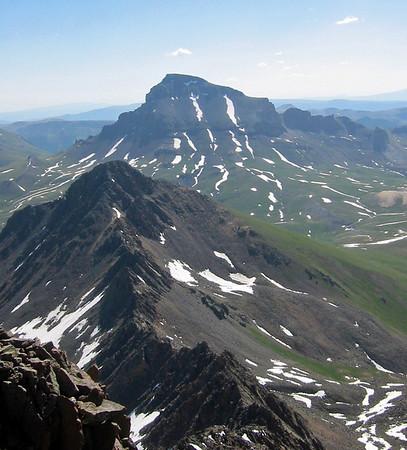Wetterhorn to Matterhorn traverse