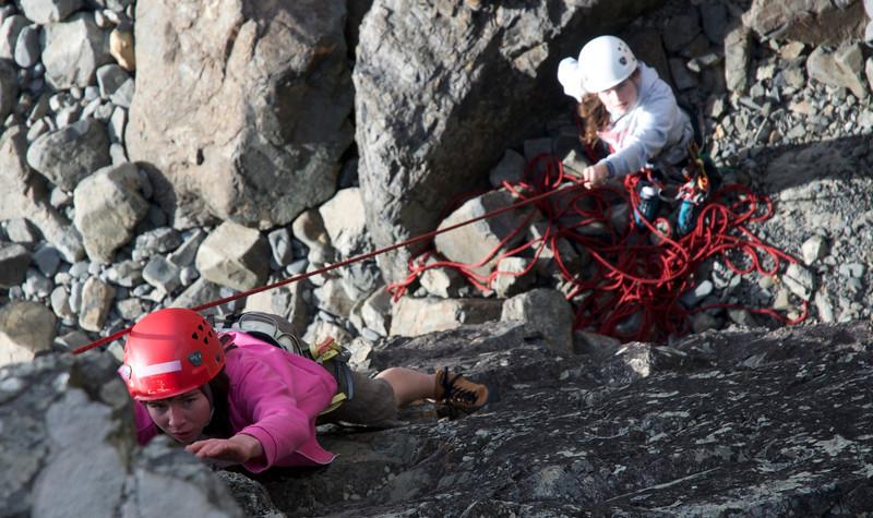 Sienna climbs