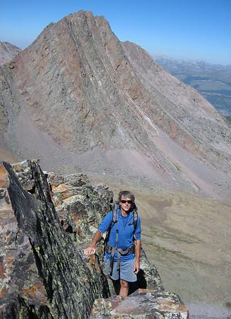 Trinity Peaks traverse